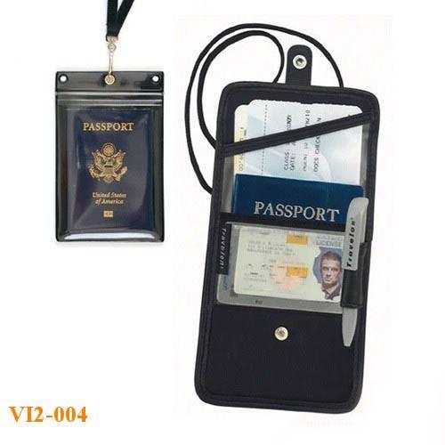 Túi đựng hộ chiếu treo cổ