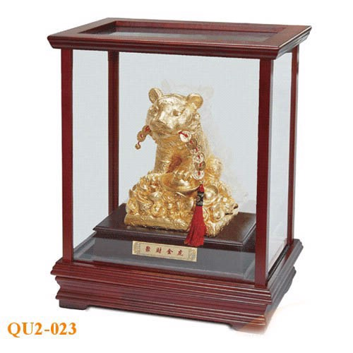 Quà tặng mạ vàng cao cấp hình tượng con hổ