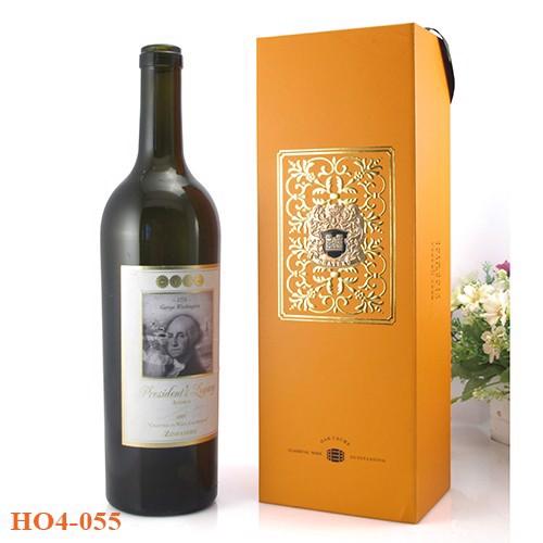 Quà tặng hộp đựng rượu giấy