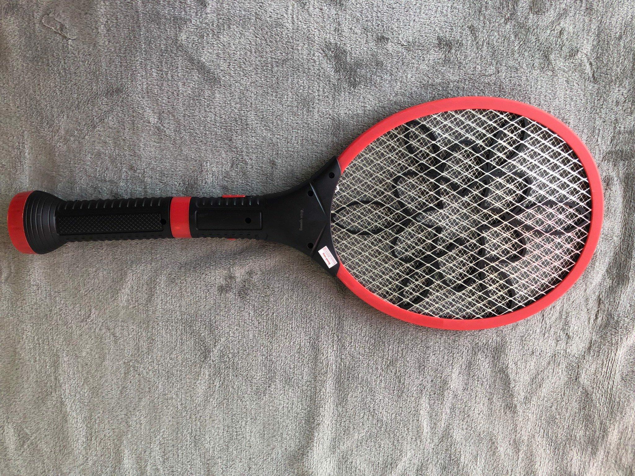 Bộ vợt muỗi Điện Quang ĐQ EMR06L BLR ( Đen - đỏ )