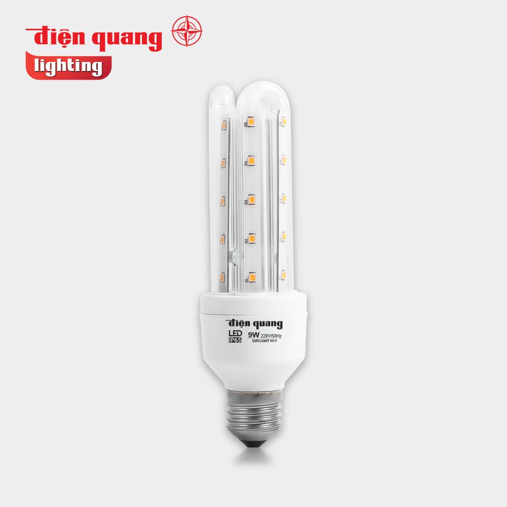 Đèn LED compact Điện Quang ĐQ LEDCP01 09765AW (9w, daylight, chống ẩm) –  Điện Quang Shop