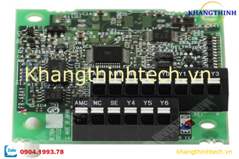 FR-A8AY | Digital output Extension analog output | BIẾN TẦN MITSUBISHI
