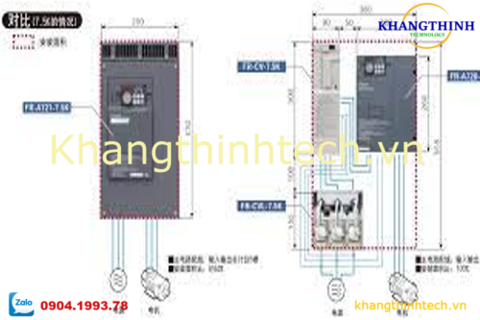 FR-A5AT | Intercompatibility attachment | BIẾN TẦN MITSUBISHI