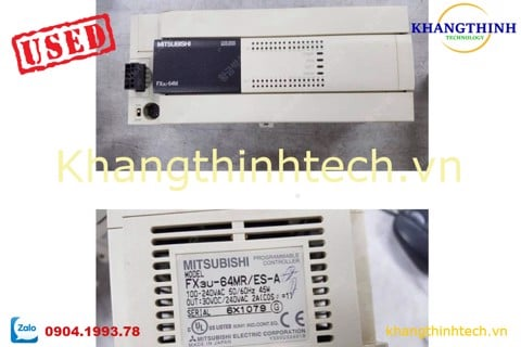 FX3U-64MR - PLC CŨ - USED