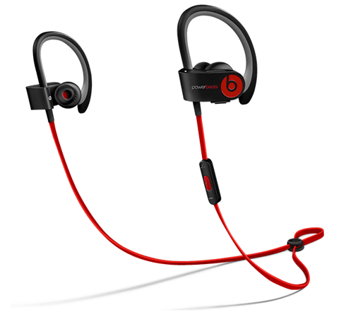 Tai nghe powerbeats 2 wireless chính hãng like new (red black)