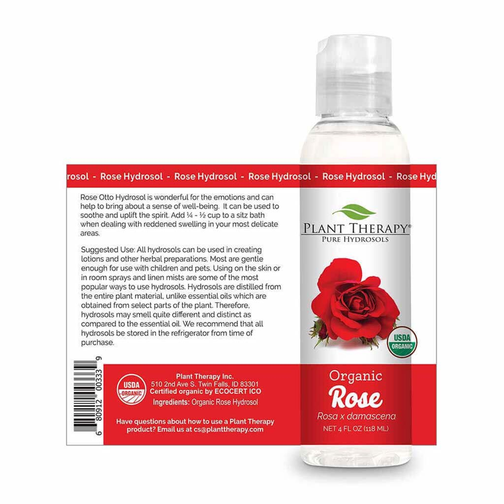 Hydrosol Hoa Hồng (Rose) Hữu Cơ Plant Therapy
