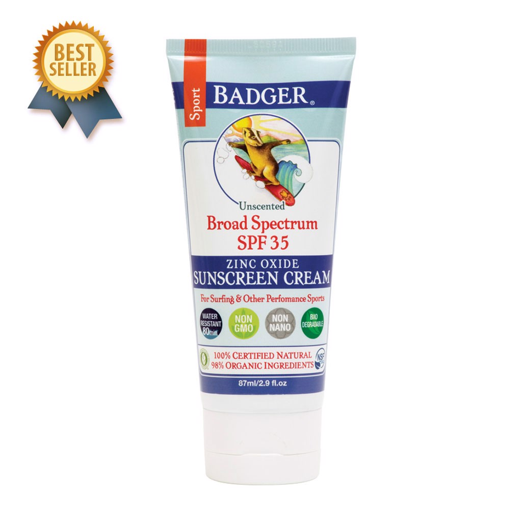 Kem Chống Nắng Thể Thao SPF 35 Badger