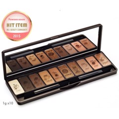 Bộ phấn mắt 10 màu Etude House Play Color Eyes In The Cafe