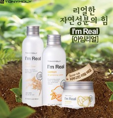 Sữa dưỡng TONY MOLY I'm Real Lemon Brightening Lotion – 200ml