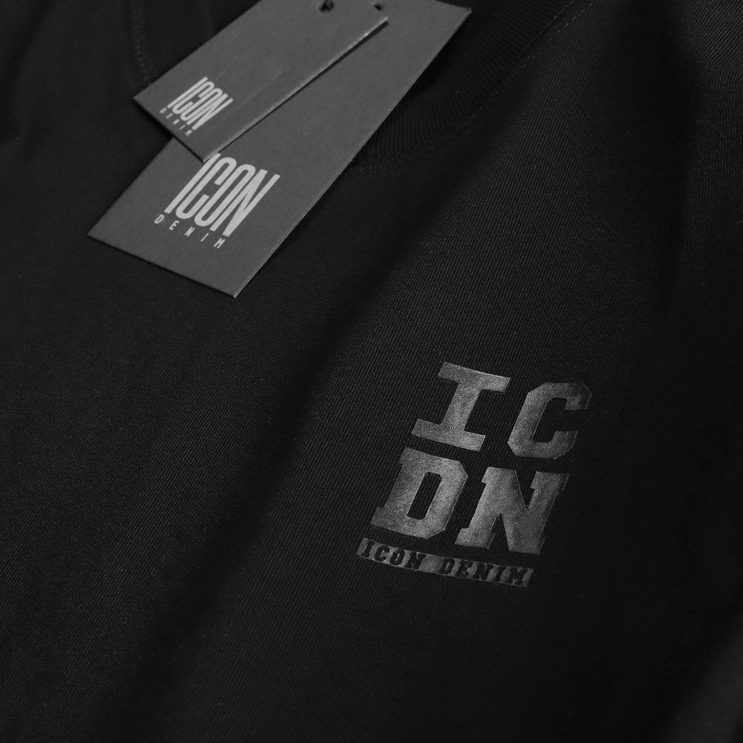 Áo thun ICON DENIM w logo