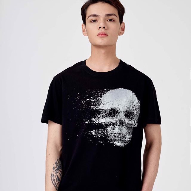 Áo thun ICON DENIM Death Geometric