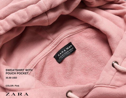 ZRA Pouch Pocket Hoodies