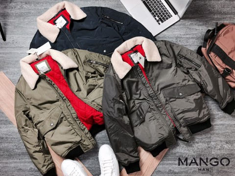 MNG Quilted Jacket