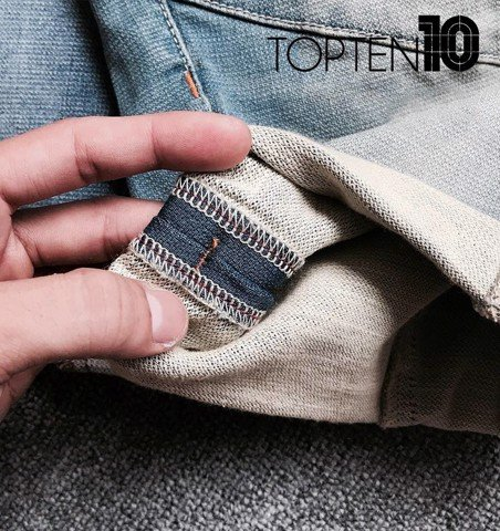 T0PTEN Soft-denim Shorts
