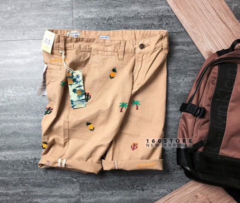 S.SODA Embroidered Shorts
