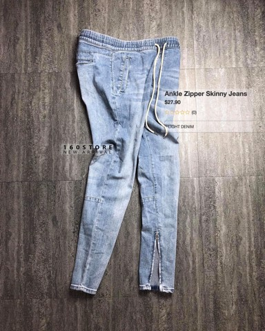 F.21 Ankle Zipper Skinny Jeans