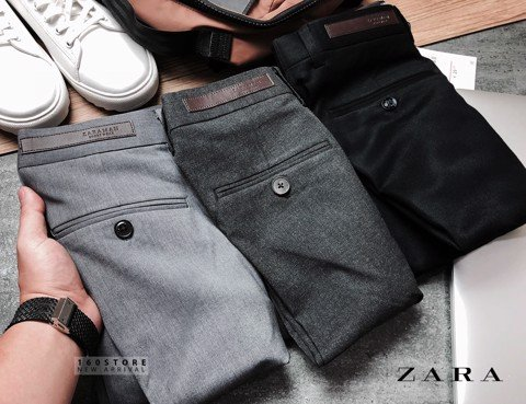 ZRA Man Trousers