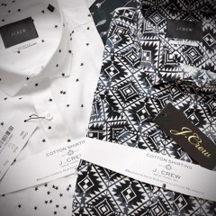 J.CREW Print Short Sleeve Shirts