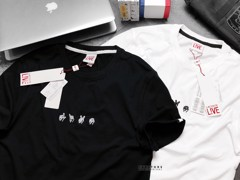LCST Men's Live Embroideries T-Shirts