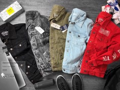 P.&.B Denim Trucker Jackets