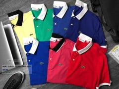 LCST Contrasting Polo Shirts