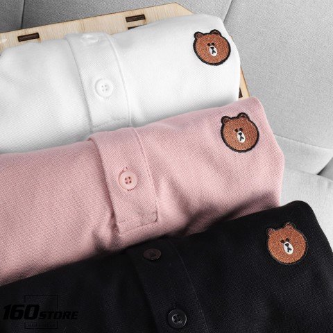 Áo polo P.B x Brown and Cony