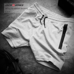 J.&.J Detailed Sweat Shorts