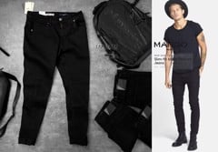 M.N.G Slim Fit Black Partrick Jeans