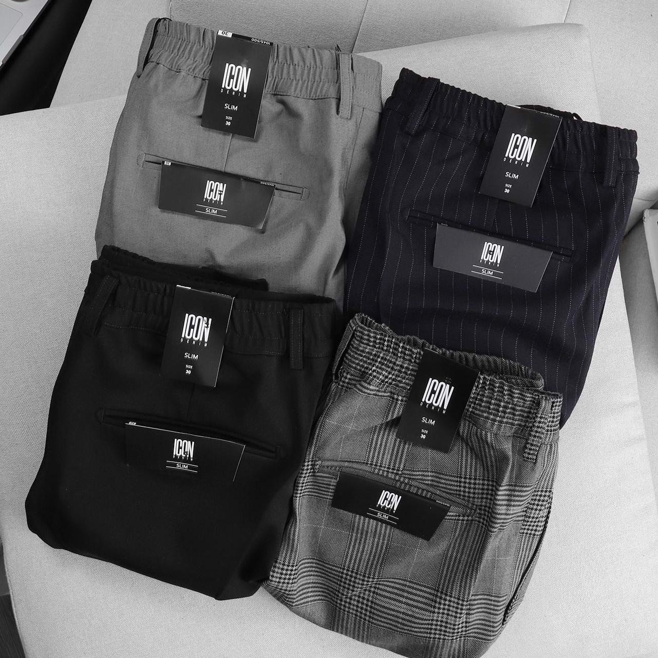 Quần Short tây Icon Denim