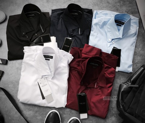 ZRA Slim Fit Plain Shirts