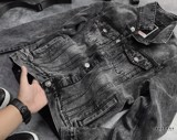 Icon & Denim Back Print Denim Jackets