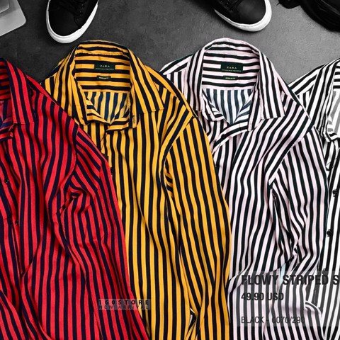 ZRA Flowy Striped Shirts