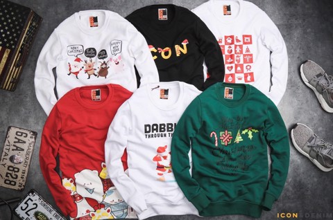 Icon & Denim Christmas Sweatshirts