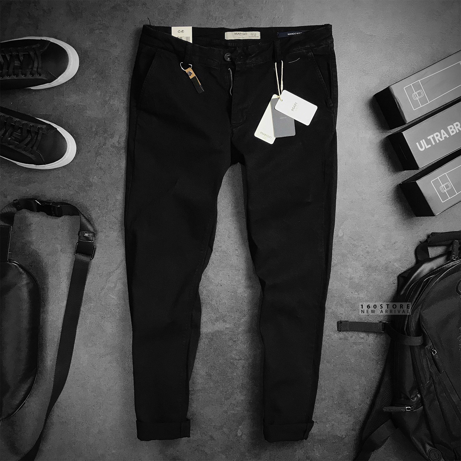 MNG Slim fit Cotton Chinos