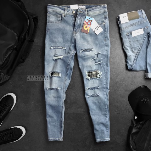 ZRA 1975 Ripped Jeans