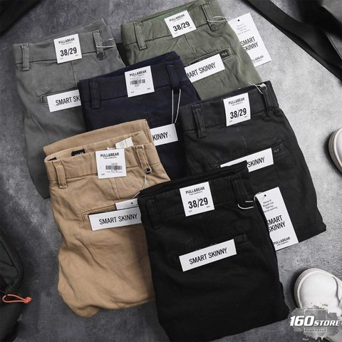 Quần kaki slim fit P.B