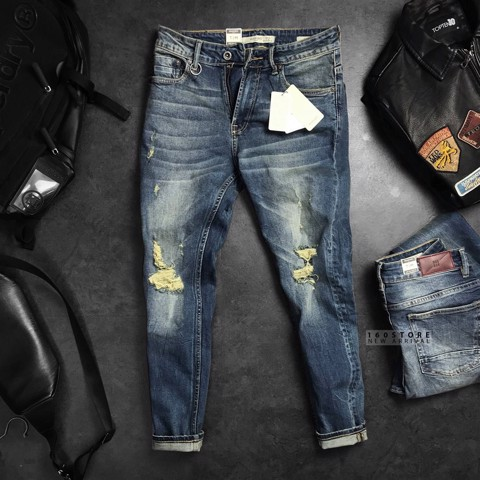 M.N.G Dirty Wash Jeans