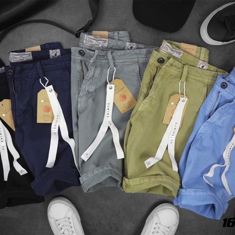 Quần short denim A.SAINTS