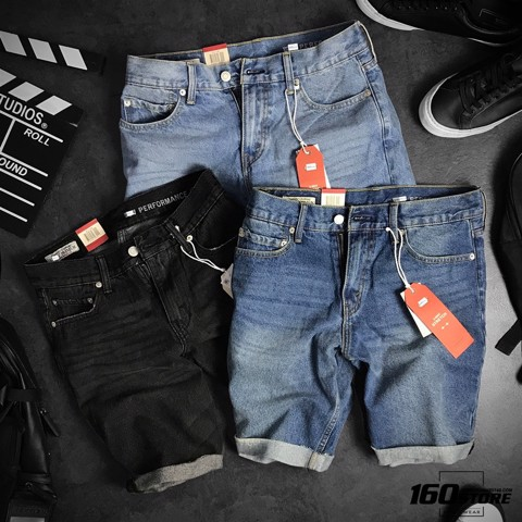 Quần short denim LVIS 511