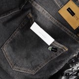 QUẦN JEAN BLACK SLIM FIT