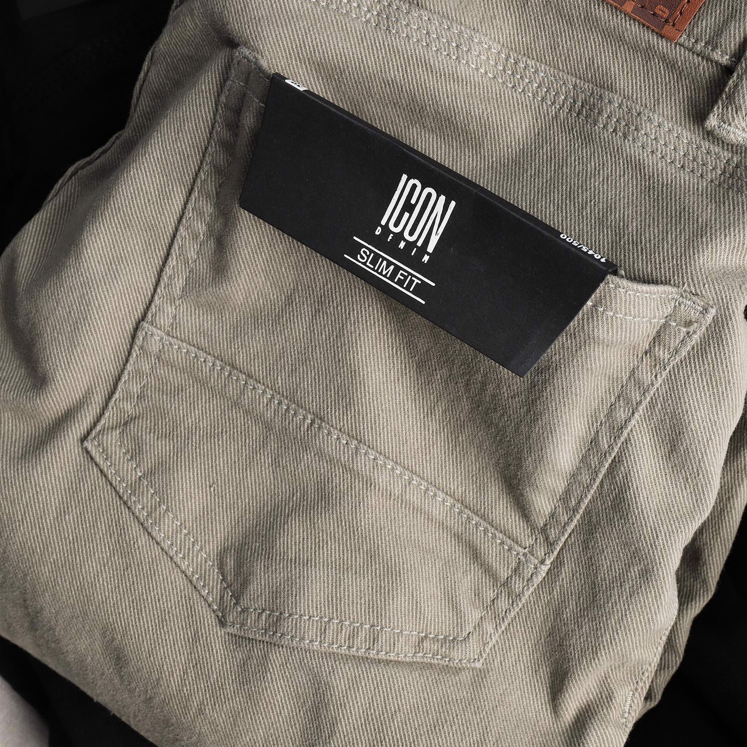 Quần kaki ICON DENIM slim