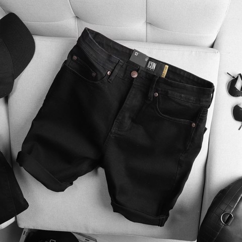 Quần short jean ICON DENIM