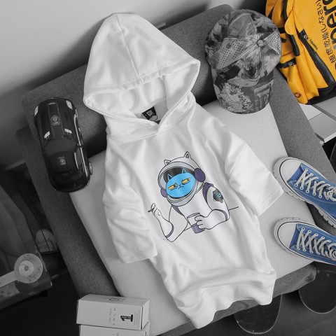 Hoodie ICON DENIM Blue Astronaut (TN)