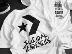 C0NVERSE X SUICIDAL.TENDENCIES T-shirts