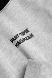 Hoodie ICON DENIM Part-time Magician