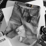 Quần jean ICON DENIM slim fit gray wash