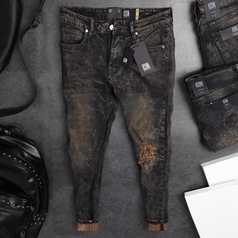Quần Jean ICON Ripped Dirty