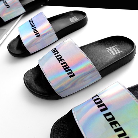 Dép ICON DENIM hologram