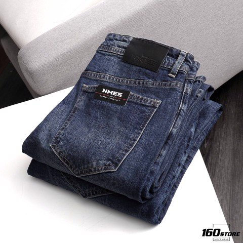Quần jeans NOMOUS ESSENTIALS dark blue Skinny