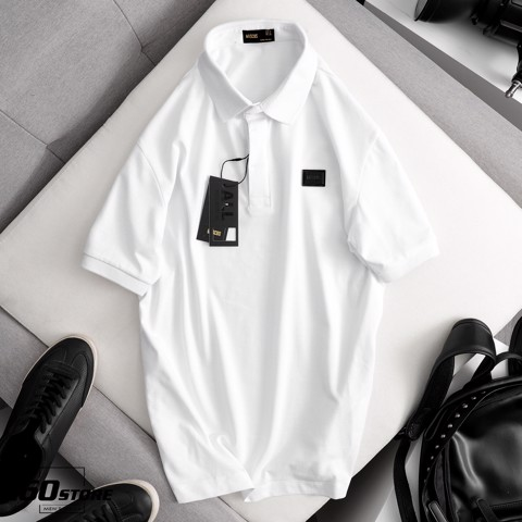 Áo polo MASCUS w metal box logo